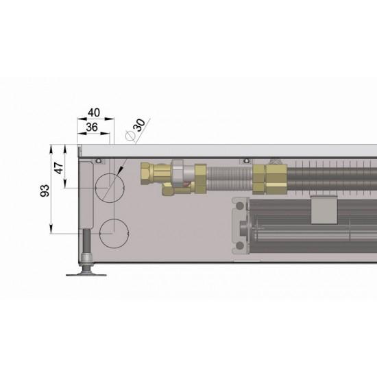 Floor convector KT0