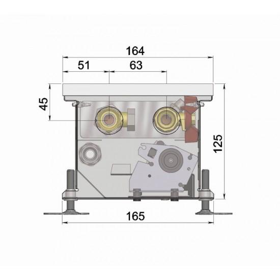 Floor convector KT1