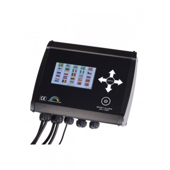 Version 7 controller for pellet systems and burners
